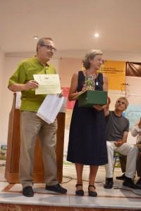 Elena Viguera y Julián Navarro de Colonias de Galeón